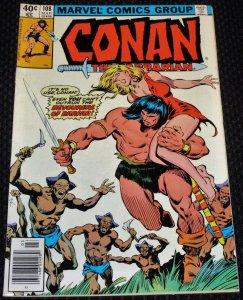 Conan the Barbarian #108 (1980)