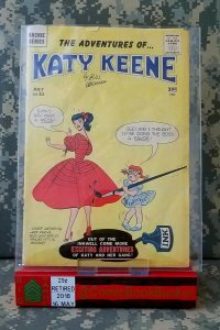 Katy Keene #53 VG Archie Comics COMPLETE Paper Dolls VINTAGE Bill Woggon Issue