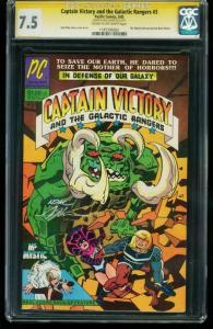 CAPTAIN VICTORY & GALACTIC RANGERS #3 CGC SS 7.5 - 1187290002