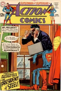 Action Comics #371 (ungraded) stock photo / ID#00E
