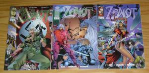 Zealot #1-3 VF/NM complete series - wildcats spin-off - image comics bad girl 2