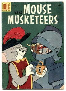 Mouse Musketeers -Four Color Comics #728 1956 VG