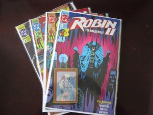Robin II Jokers Wild #1 B to #4 B - VF - 1991