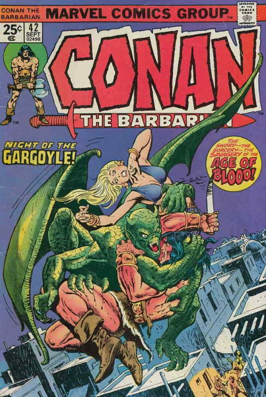 Conan the Barbarian #42 FN; Marvel | save on shipping - details inside