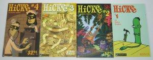 Hickee #1-4 VF/NM complete series - alternative comics set 2 3