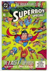 SUPERBOY Special #1, NM-, Adventures of , Superman, 1992, more DC in store