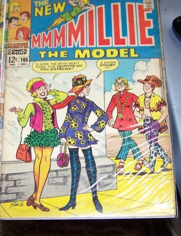 Millie the Model #165 (Dec 1968, Marvel) LOW GRADE STAN LEE