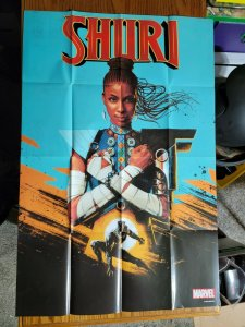 LARGE 36 x 24 CUTE Shuri Black Panther Promo Poster