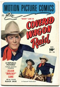 Motion Picture Comics #103 1951- Covered Wagon Raid FN/VF