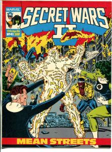 Secret Wars II #41 1986-Marvel-She-Hulk-Luke Cage-Spider-man-FN