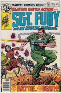 Sgt. Fury and His Howling Commandos #150 (Feb-79) FN/VF Mid-High-Grade Sgt. F...