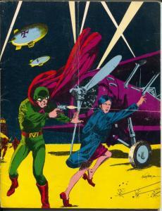 Rocket's Blast  & Comicollector #99 1973-Don Newton Spy Smasher cover-VG