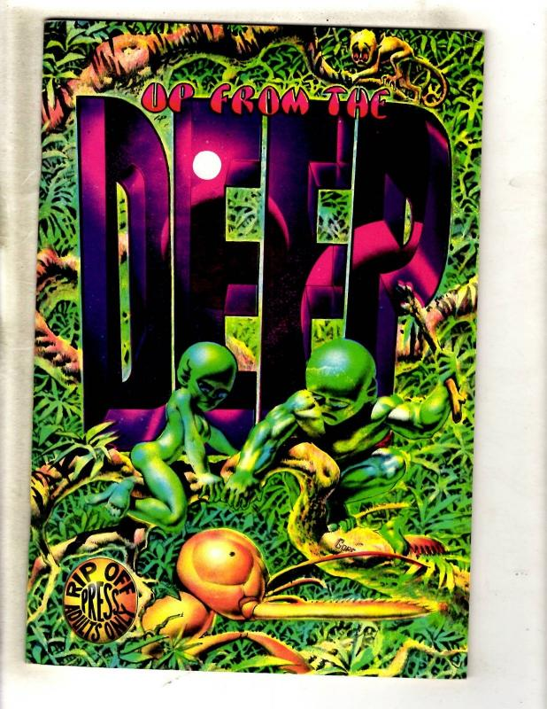 Up From The Deep Underground Comix Comic Book Rip Off Press VF FM5