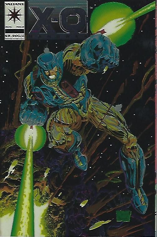 X-O MAN O WAR #0 NMNT $3.00