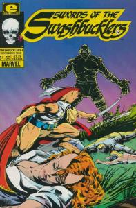 Swords of the Swashbucklers #4 VF/NM; Epic | save on shipping - details inside