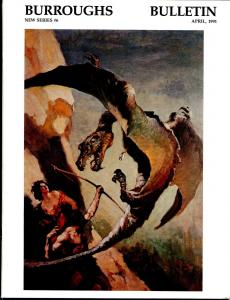 Burroughs Bulletin New Series #6 1991-ERB-Tarzan-J. Allen St. John-Wm Stout-VF