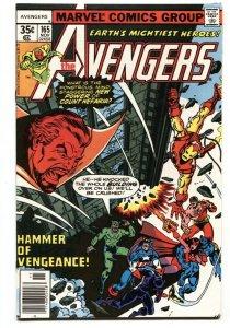 Avengers #165 1977-1st Henry Gyrich Marvel VF/NM