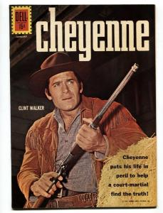 Cheyenne #25 1962- Dell Western- Clint Walker VF/NM