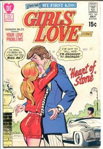 GIRLS' LOVE STORIES #160-DC ROMANCE-GREAT COVER VG/FN