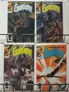 GARGOYLE 1-4 DeMatteis/Badger; Complete mystical mini-series WRIGHTSON covers