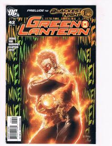 Green Lantern #42 NM DC Comics Comic Book JLA Aug 2009 DE30