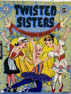 TWISTED SISTERS COMICS #3 (Kitchen Sink, 1994)  Phoebe Gloeckner, MK Brown VF-NM