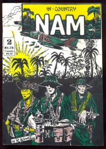 In-Country Nam #2 VF/NM; Survival Art | save on shipping - details inside