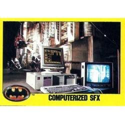1989 Batman The Movie Series 2 Topps COMPUTERIZED SFX #255