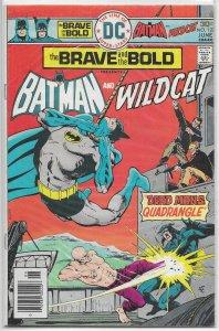 Brave and the Bold   vol. 1   #127 VG Batman/Wildcat