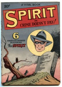 Spirit #2 1945- Crime Doesn't Pay- Lou Fine cover FN