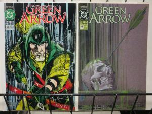 GREEN ARROW 57-58 ...AND NOT A DROP TO DRINK complete