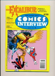 Excalibur  COMICS INTERVIEW #56 1988  VF (PF945)