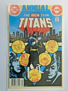 New Teen Titans #2 Annual 1st appearance of Vigilante 6.0 FN (1983)