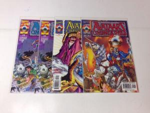 Avataarz Covenant Of The Shield 1-3 Complete Near Mint Lot Set Run