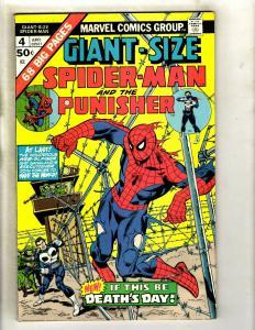 Giant-Size Spider-Man & The Punisher # 4 VF/NM Marvel Comic Book Avengers GK4