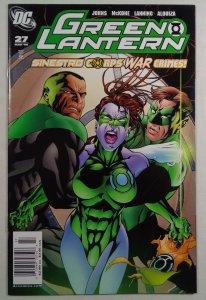 Green Lantern #27 Newsstand Edition HTF DC (2008)