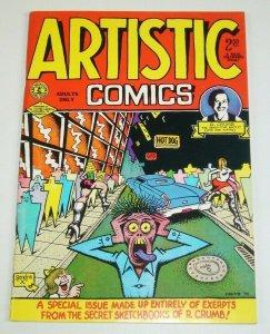 Artistic Comics #1 FN (3rd) print - robert crumb - underground comix sketchbook