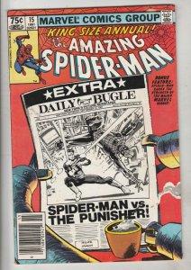 Amazing Spider-Man King-Size Annual #15 (Jan-81) VF/NM High-Grade Spider-Man