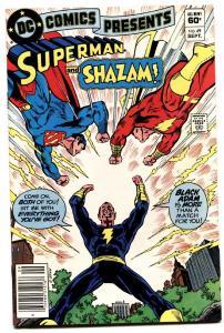 Dc Comics Presents #49 comic book Black Adam Cover 1982 VF/NM