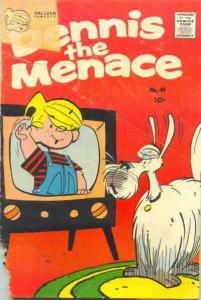 Dennis the Menace (Fawcett) #49 VG; Fawcett | low grade comic - save on shipping