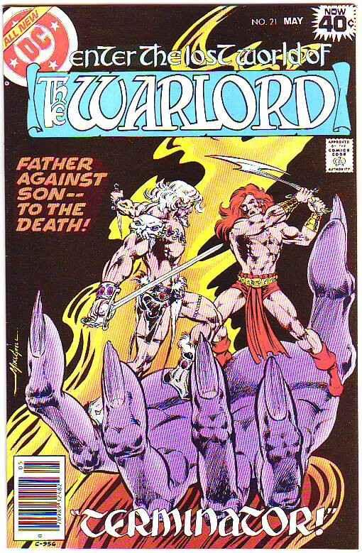 Warlord, The #21 (May-79) NM/NM- High-Grade Warlord