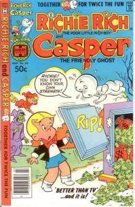 RICHIE RICH & CASPER (1974-1982) 38 VF-NM March 1981 COMICS BOOK