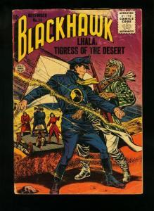 BLACKHAWK COMICS #95 1955-LHALA TIGRESS OF THE DESERT-MADAM FURY-  fair/good