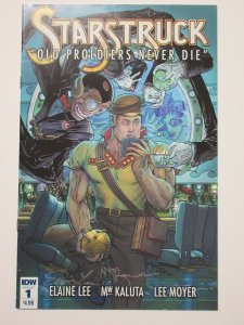 Starstruck Old Proldiers Never Die (IDW 2017) #1 Signed Elaine Lee + MW Kaluta
