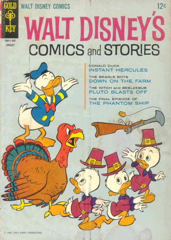 Walt Disney's Comics and Stories #292 VG; Dell | low grade comic - save on shipp