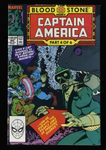 Captain America #360 NM- 9.2 White Pages 1st Crossbones!