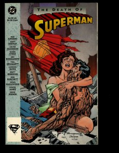 The Death of Superman DC Comic Book TPB Graphic Novel Doomsday Lois Lane NP13