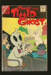Charlton Comics Timmy the Timid Ghost Vol 1 #41 November 1963 SEE NOTE