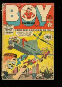 BOY COMICS #86-1952-CHARLES BIRO-IRON JAW-CRIMEBUSTER FR