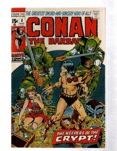 Conan The Barbarian # 8 FN/VF Marvel Comic Book Hidden Message Issue Smith J460